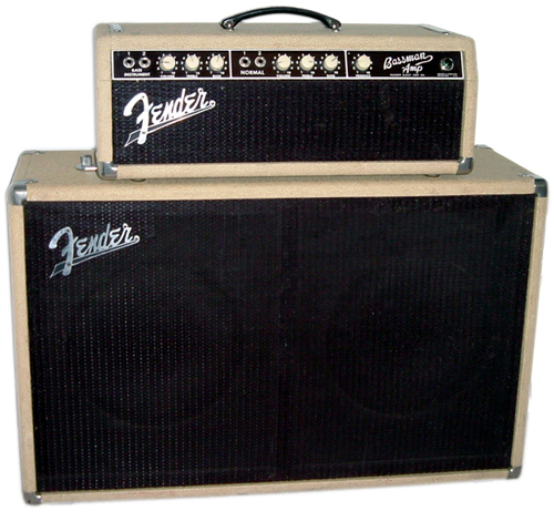 Fender Blonde Bassman Ampwares