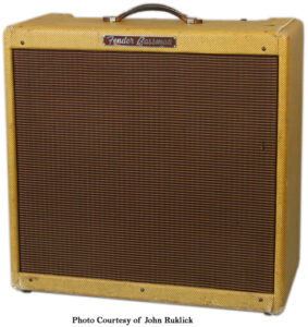 Fender Narrow Panel Tweed Bassman