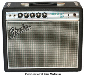 Fender Silverface Vibro Champ