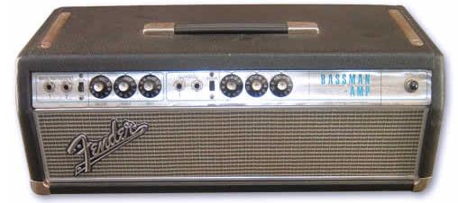 Fender Silverface Bassman  U2013 Ampwares