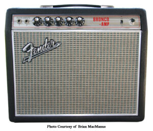 Fender Silverface Bronco