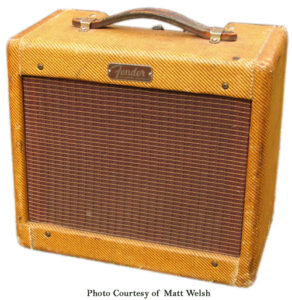 Fender Narrow Panel Tweed Champ