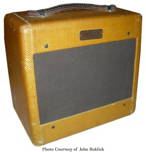 Fender Wide Panel Tweed Champ