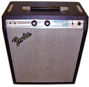 Fender Silverface Musicmaster Bass