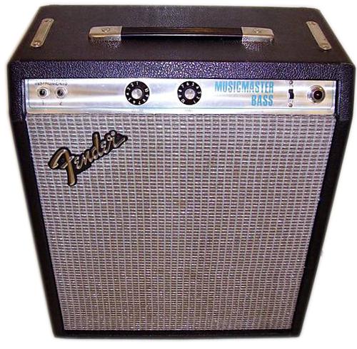 Fender Silverface Musicmaster Bass ...