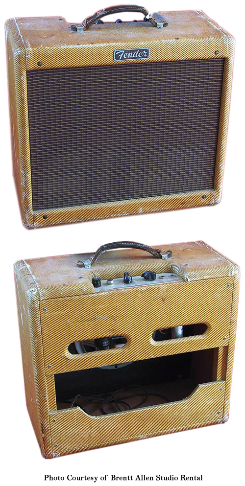 Fender Narrow Panel Tweed Princeton Ampwares