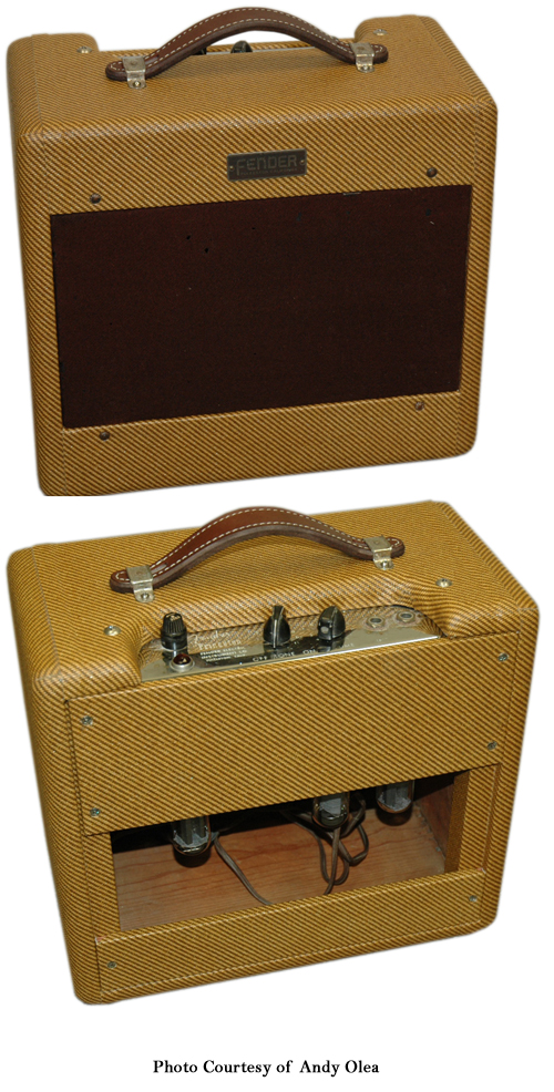 Fender Wide Panel Tweed Princeton Ampwares