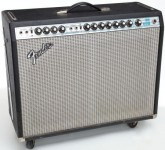 Silverface Twin Reverb Front