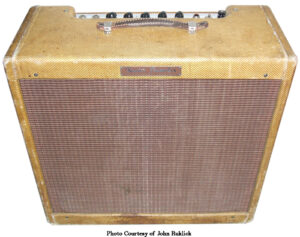 Fender Narrow Panel Tweed Tremolux
