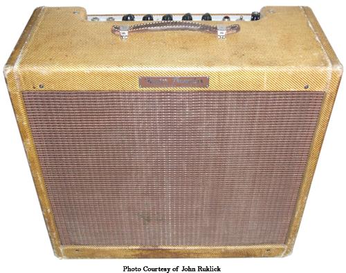 Fender Narrow Panel Tweed Tremolux Ampwares