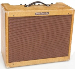 Fender Narrow Panel Tweed Super