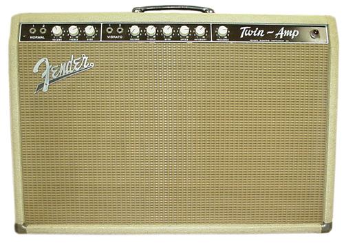 Fender Blonde Twin Ampwares