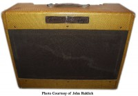 Fender Twin Wide Panel 1954