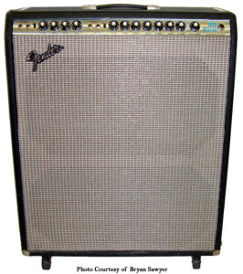 Fender Silverface Quad Reverb