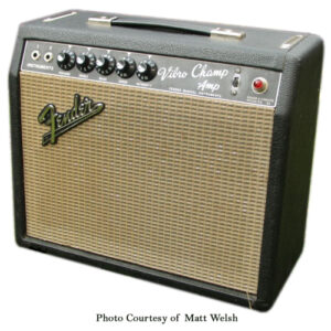Fender Blackface Vibro Champ 1965