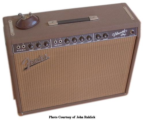 Fender Brownface Vibroverb Ampwares