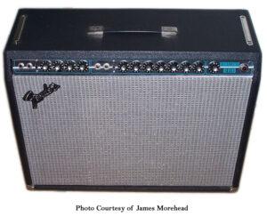 Fender Silverface Vibrosonic Reverb