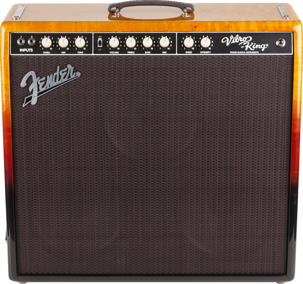 Fender Limited Edition Vibro King Tequila Sunrise Ampwares